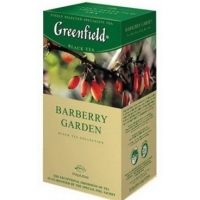 Чай GREENFIELD Barberry Garden 25 пак