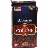 Кофе натуральный «LEGEND OF COLUMB» American 250 г.