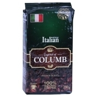 Кофе натуральный «LEGEND OF COLUMB» Italian 250 г.