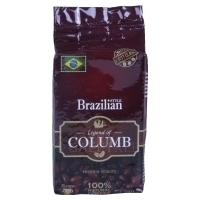 Кофе натуральный «LEGEND OF COLUMB» Brazilian 250 г.