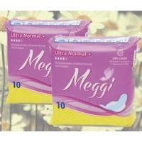Прокладки meggi ultra normal +, 10шт