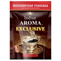 Кофе Indian Aroma Exclusive нат.раст. 1/75
