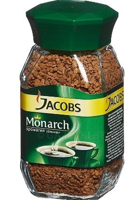 "Кофе ""Jacobs Monarch"" 190г"