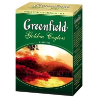 Чай черный Greenfield Golden Ceylon 100 г
