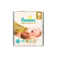 Подгузники Pampers Premium Care Econom mini (3-6 кг) 80 шт