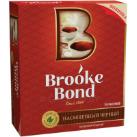 Чай Brooke Bond черный, 100 пак.