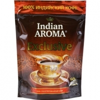 "Кофе растворимый ""Indian Aroma"" Exclusive, 60 г."