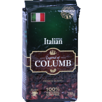 Кофе «Legend Of Columb» Italian молотый, 250 г.