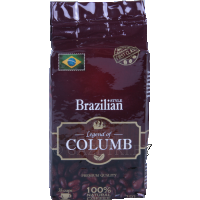Кофе «Legend Of Columb» Brazilian молотый, 250 г.