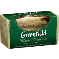 Чай черный Greenfield Classic Breakfast, 25 пак