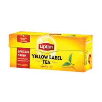 Чай черный Lipton Yellow Label, 20 пак.