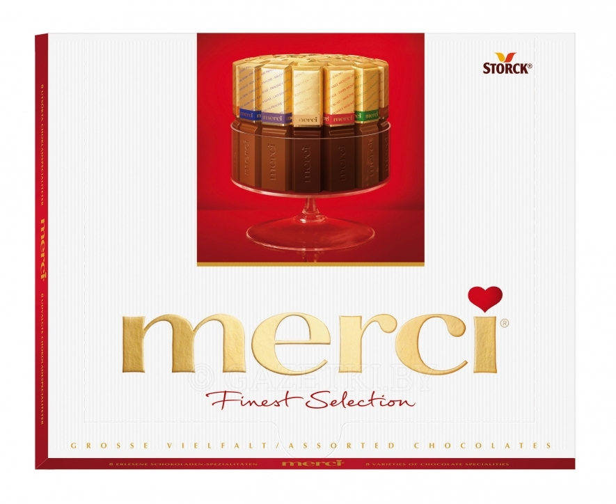 Шоколад Merci Finest Selection, 250 г