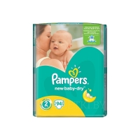 Pampers New Baby-Dry, Подгузники Mini/94 шт.