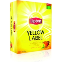 Чай черный Lipton Yellow Label 100 пак.*2 г
