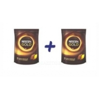 (1+1) Кофе Nescafe Gold растворимый, 250г