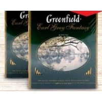 (1+1) Чай Greenfield Earl Grey Fantasy черн., 100 пак