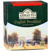 Чай Ahmad English Breakfast, 100 пак