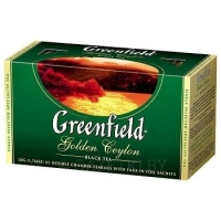 Чай чёрный «Greenfield» Golden Ceylon, 25 пак.