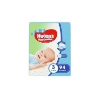 Подгузники Huggies Ultra Comfort Giga Boy 3 (5-9 кг) (94 шт)
