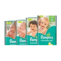 Подгузники Pampers active baby-dry, 3, 4, 4+, 5