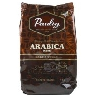 Кофе «Paulig» ARABICA DARK зерно, 1 кг.