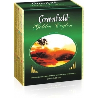 Чай черный Greenfield Golden Ceylon 2 г*100 пак.