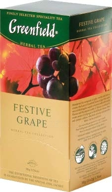Чай Greenfield Festive Grape, 25 пак.