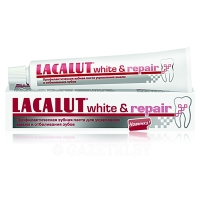 LACALUT White & Repair, Зубная паста, 75 мл