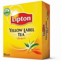 Чай LIPTON Yellow Label, 100 п., 200 г