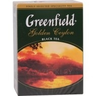 Чай Greenfield Golden Ceylon черный, 100 г.