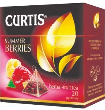 Чай Curtis SUMMER BERRIES, 20 пак.