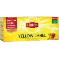 Чай Lipton Yellow label 20 пак.