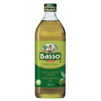 Масло оливковое BASSO, 1 л.