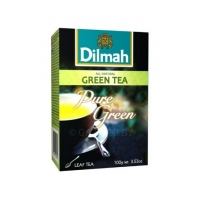 Чай DILMAH Pure Green Tea зеленый, 100 г