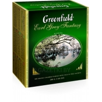 Чай Greenfield Earl Grey Fantasy черн., 100 пак
