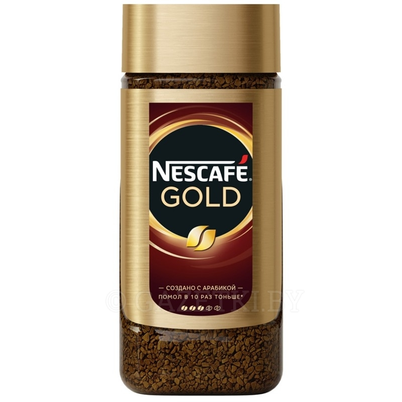 (1+1) Кофе Nescafe Gold раств., 95 г