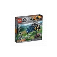 Конструктор Погоня за Блю на вертолёте LEGO Jurassic World 397 дет.