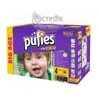 Подгузники PUFIES BIG BOX MAXI 4 (7-14 кг), 90 шт