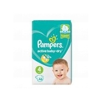 Подгузники Pampers Active Baby-dry maxi (8-14 кг), 46 шт.