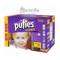 Подгузники PUFIES BIG BOX Junior 5 (11-20 кг), 78 шт