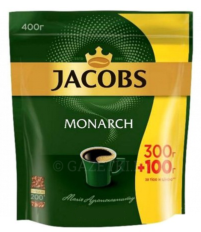 Кофе Jacobs Monarch раст 400 г
