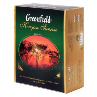 (1+1) Чай Greenfield Kenyan Sunrise, 100 пак
