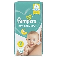 Подгузники Pampers Active Baby Econom mini (4-8 кг) 66 шт