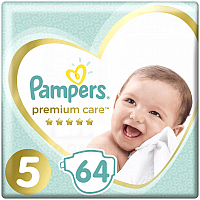 Подгузники Pampers Premium Care 5 Junior (64шт)