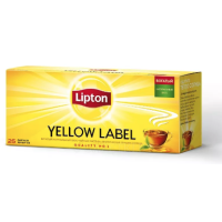 Чай Lipton Yellow Label черный 25 пак.*2 г