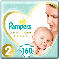 Подгузники Pampers Premium Care 2 Mini (160шт)