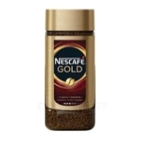 Кофе растворимый NESCAFE GOLD, с добавлением молотого, 190 г