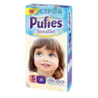 Подгузники Pufies Sensitive Junior 5 (11-20 кг), 48 шт