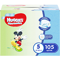 Подгузники Huggies Ultra Comfort 5 Disney Boy (105шт)