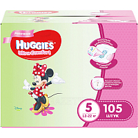 Подгузники Huggies Ultra Comfort 5 Disney Girl (105шт)